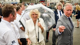 Duke and Duchess in Cornwall 2015
