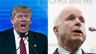 Donald Trump: John McCain isn't a war hero - I like people who weren't captured
