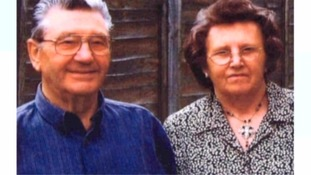Timothy Crook's parents, Bob and Elsie Crook