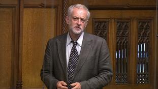 Jeremy Corbyn debates the Welfare Bill in the Commons.
