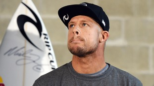 Mick Fanning was visibly emotional at a press conference last night