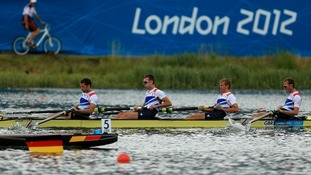 Team GB's Lightweight Coxless Men's Four