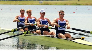 Great Britain's lightweight coxless men's four