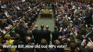 Welfare Bill: Which MPs from our region defied Labour's orders and voted against cuts to welfare?
