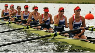 Great Britain's women's eight crew