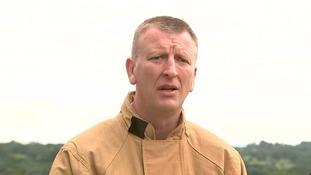 Chief Fire Officer Paul Hancock.
