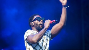 London rapper Tinie Tempah will be headlining tonight's event.
