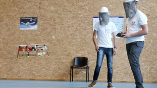 French students invent a drone designed to deliver pizza
