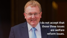 David Mundell MP says increased use of foodbanks isn't linked to Conservative welfare policies.