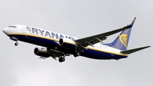 "Ryanair said the ""comfort and safety of our customers and crew"" was its top priority."