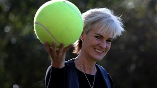 Judy Murray visits the Borders with her tennis roadshow