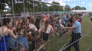 35,000 people are expected on the Hoe over the two-day festival.