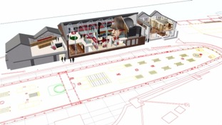 Plans for The Brunel Museum are outlined in this artists impression.