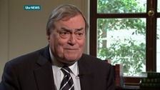 "Lord Prescott described Blair's remarks as ""abusive"""