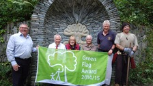 Ham Woods Nature Reserve has been given a Green Flag Award.