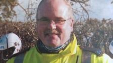 PC Bill Barker died in the floods.