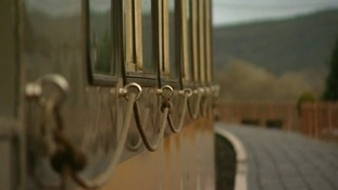 Carriage on Ffestiniog railway