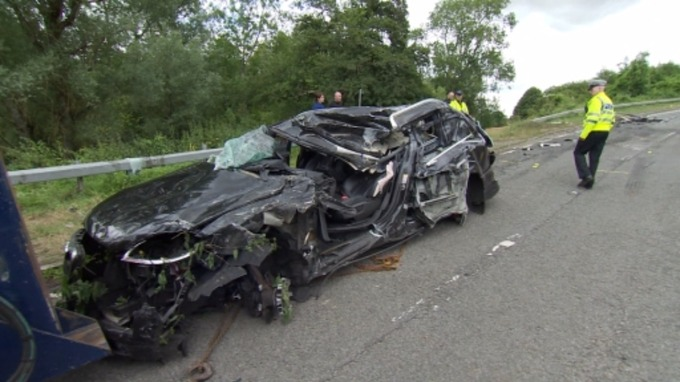 PICTURES: Scene of fatal crash on A429 in Cotswolds | West Country ...