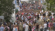 Royal Welsh Show crowd