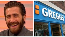 Actor Jake Gyllenhaal appearing on ITV's Good Morning Britain