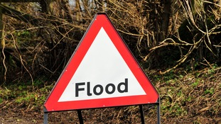 The Environment Agency is warning that the rainfall will bring a risk of localised surface water flooding