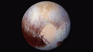New close-up images of Pluto released by NASA