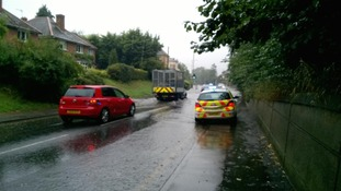 Flooding in Stansted Road