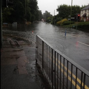 Flooding on Parsonage Lane