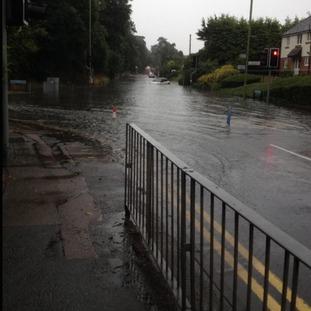 Flooding on Parsonage Lane