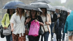 The Anglia region has a had a proper summer soaking with nearly a month's worth of rain falling in just 24 hours.