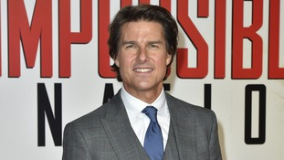 Tom Cruise attends UK premiere of Mission Impossible Rogue Nation