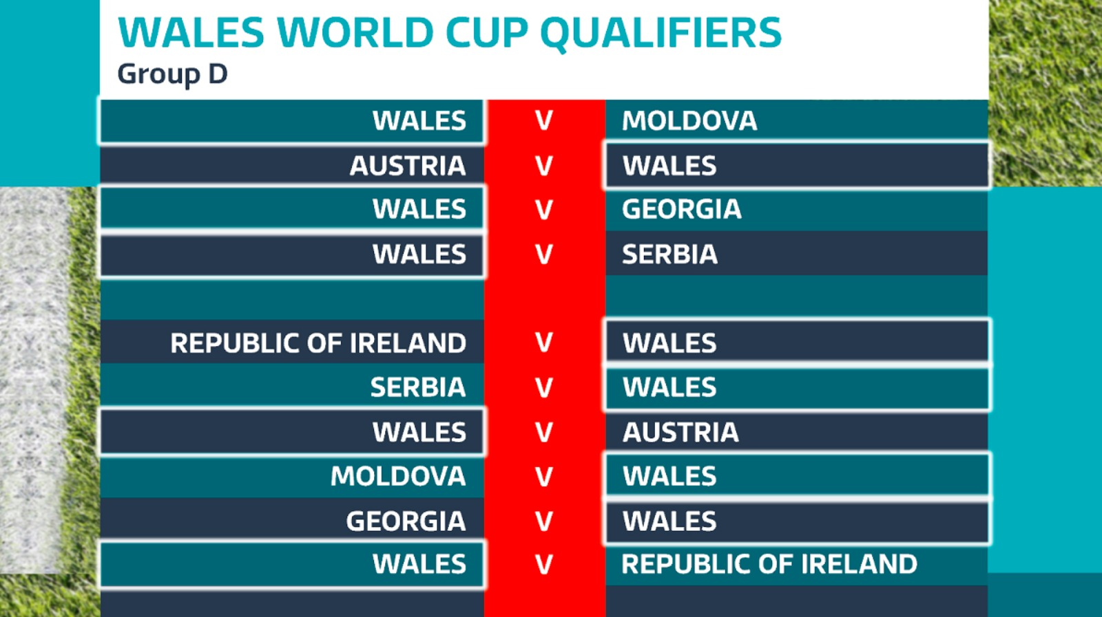 world cup qualifiers matches