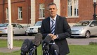 Owen Coyle addresses the media outside London' Chest Hospital