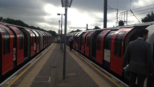 Olympic Park tube line suspended