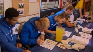 Bristol Rovers hold an Open Day