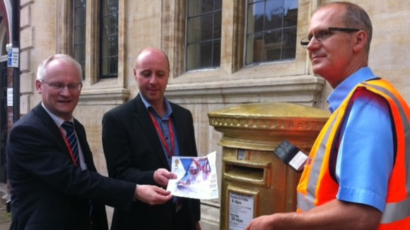 The Royal Mail mark Etienne Stott's Olympic success