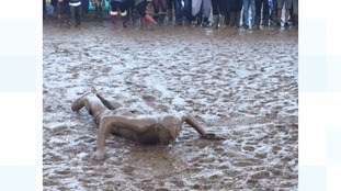 Stuck in the mud at Womad