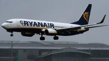 Ryanair passenger numbers increased by 16% to 28 million.