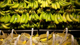 'Drugs' found inside banana shipment by Tesco worker in Wokingham