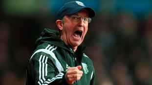 Tony Pulis has been in charge at West Bromwich Albion since January