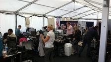 ITV Olympics newsroom
