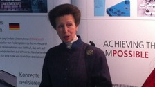 The Princess Royal visits the Brandauer factory in Birmingham