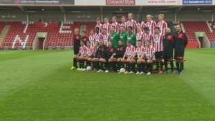 New team with new belief: Cheltenham Town determined to return to the Football League