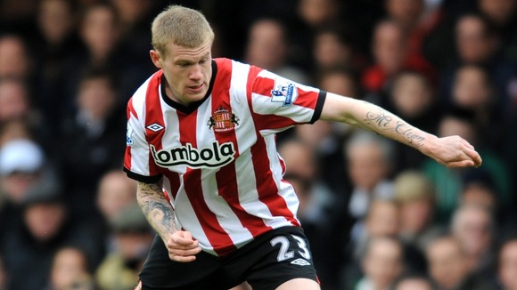 Sunderland forward James McClean
