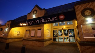 A person had a been hit by a train at Leighton Buzzard in Bedfordshire.