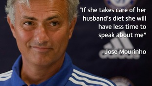 Chelsea boss Mourinho makes jibe about Benitez's weight