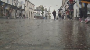 A rainy day in Kendal.