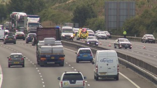Police are investigation the crash near Milton Keynes.
