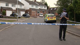 Several knives have been seized from the scene of two murders at Stansted Mountfitchet in Essex.