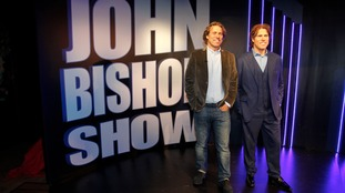 John Bishop: immortalised in wax